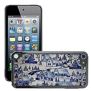 Etui Housse Coque de Protection Cover Rigide pour // M00151893 Christmas Theme papel tapiz de fondo // Apple ipod Touch 5 5G 5th