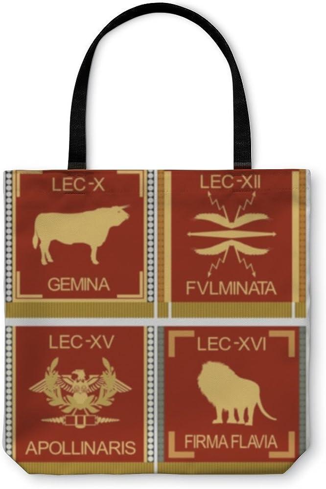 Gear New Shoulder Tote Hand Bag 5582866GN Symbols Of The Roman Legionaries