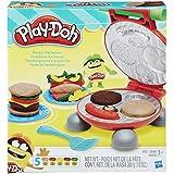 Conjunto de Massinha Play-Doh Festa do Hamburguer 5 Potes Hasbro