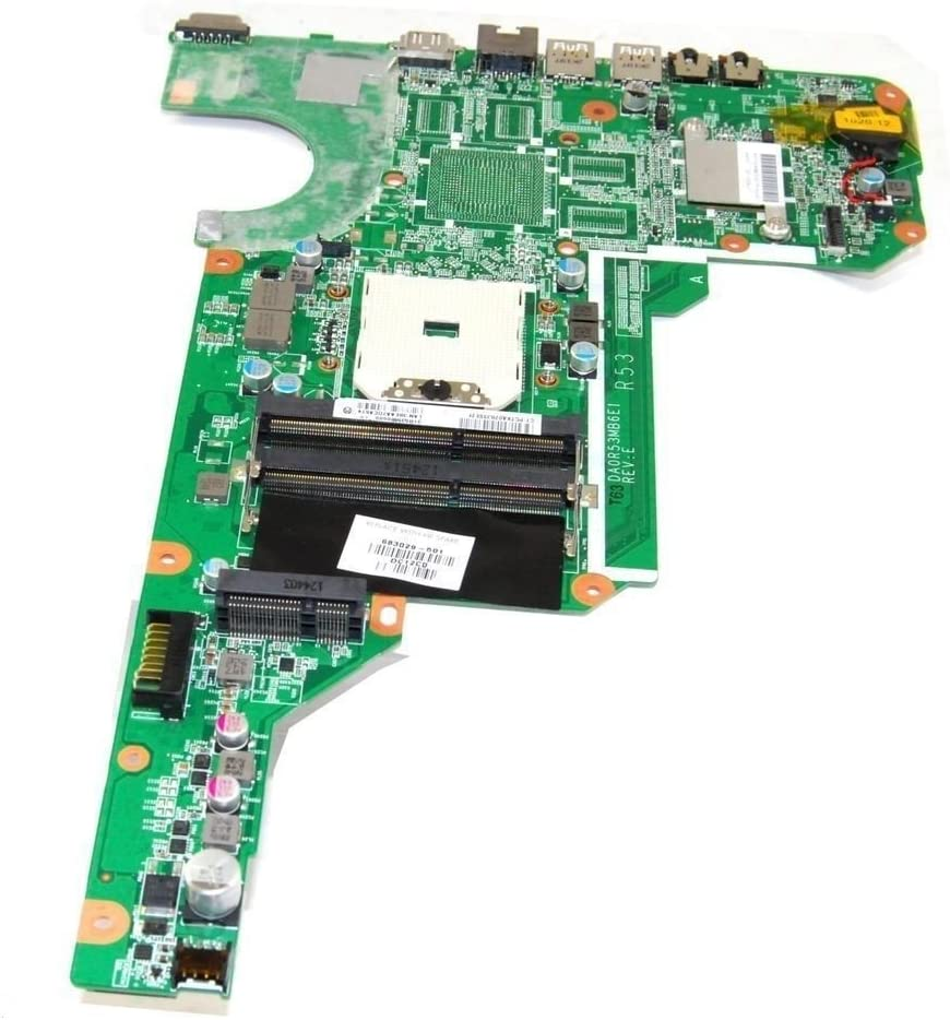 HP PAVILION G4 G6 G7-2000 SERIES MOTHERBOARD 683029-001 DA0R5MB6E1 31R53MB0000