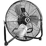 TPI Corporation Commercial Workstation Floor Fan, Single Phase, 120 Volt
