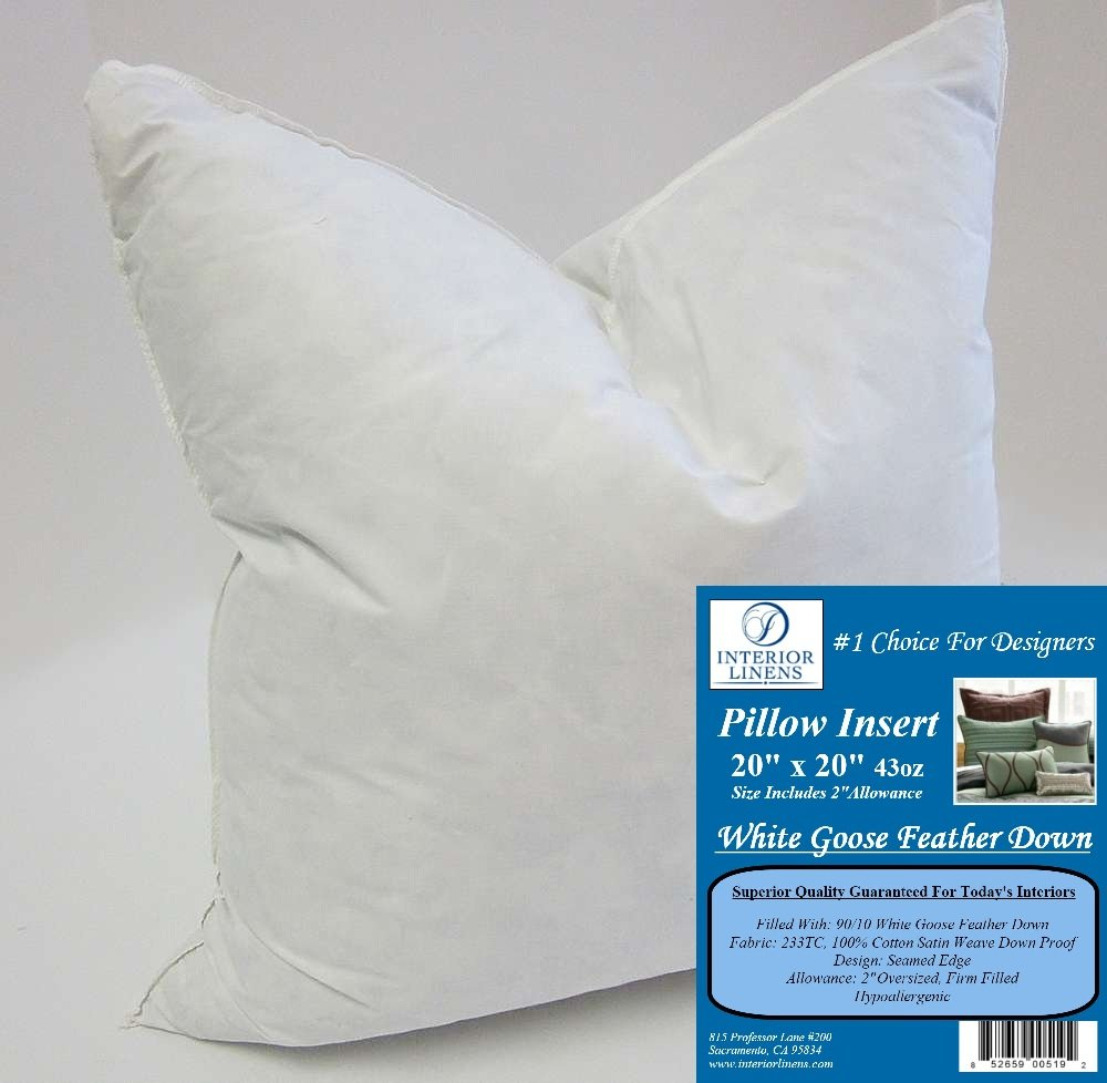 cushion insert pottery au down x barn inserts feather synthetic pillows gallery pillow blanket