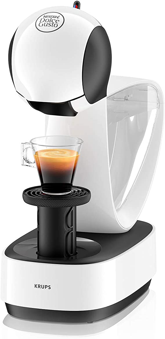 Krups Dolce Gusto Infinissima KP1701 - Cafetera de cápsulas, 15 bares de presión, color blanco: Amazon.es: Hogar