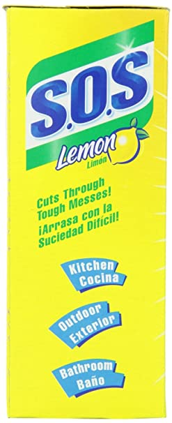 Amazon.com: S.O.S. Steel Wool Soap Pads, Lemon Fresh, 10 Count (Pack of 4): Health & Personal Care