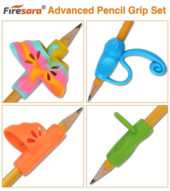 Amazon.com: Apretones de lápiz, firesara mango de ergonómica ...