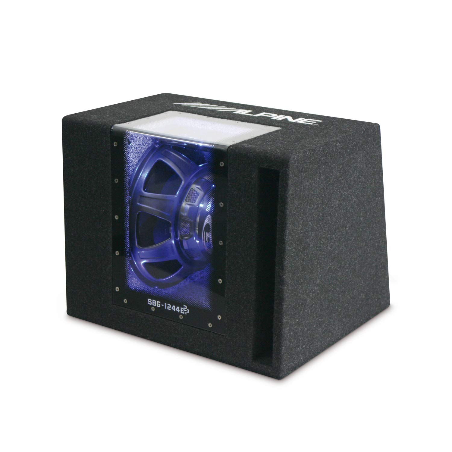 12 Pronto allUso Band-Pass Enclsoure con Subwoofer Alpine SBG 1244BP 30,48 cm