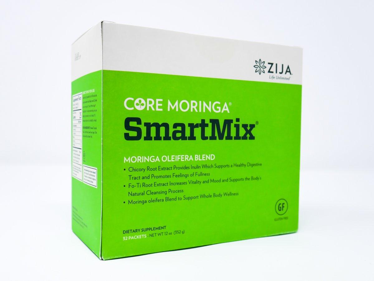 Zija SmartMix Enhanced Moringa Blend Instant Powder Drink - 32 Sachets