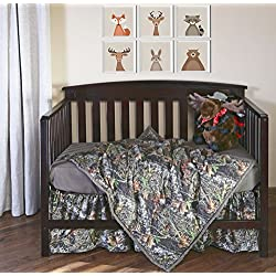 Carstens Camo 3-Piece Crib Sheet Set, Mossy Oak