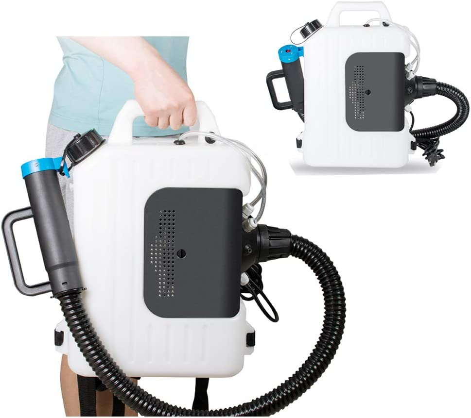 Hand Sprayer for Multi-Purpose Use 500ML for Hospitals Home car Hotel Family Schools EnJoCho Electric ULV Nano Sprayer 1300W Portable Intelligent Fast Fogger Steam Atomizing Sprays Wireless Version