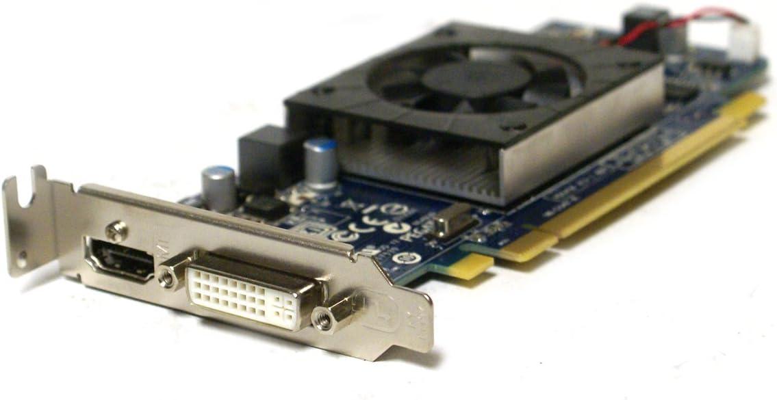 Genuine Pegatron AMD ATI 1 GB HD 6450 HD6450 PCI-E DVI HDMI Low Profile GDDR3 Video Graphics Card Part Numbers: 4KHPH, 113-AD00100-101, ATI-102-C26405