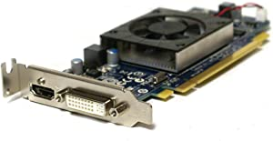 Genuine Pegatron AMD ATI 1 GB HD 6450 HD6450 PCI-E DVI HDMI Low Profile GDDR3 Video Graphics Card Part Numbers: 4KHPH, 113-AD00100-101, ATI-102-C26405