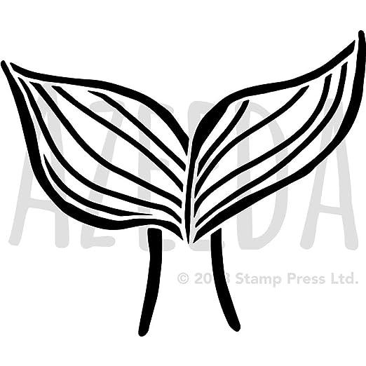 A5 /'Poppy/' Wall Stencil WS00002376 Template