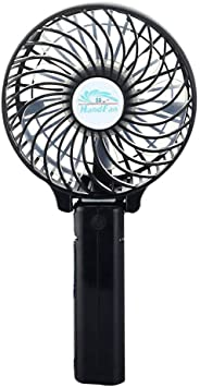 Jecxep Portátil de mano inalámbrico mini ventilador Operado ...