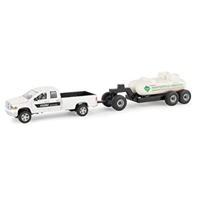 ERTL Ram 2500 1: 64 Scale Pickup Truck with Anhydrous Tank, White: Toys & Games