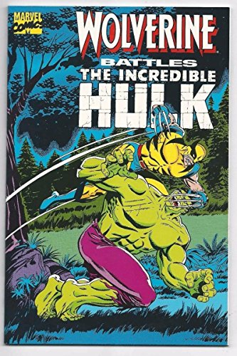 (WOLVERINE BATTLES THE INCREDIBLE HULK #1, NM, Herb Trimpe, Marvel 181)