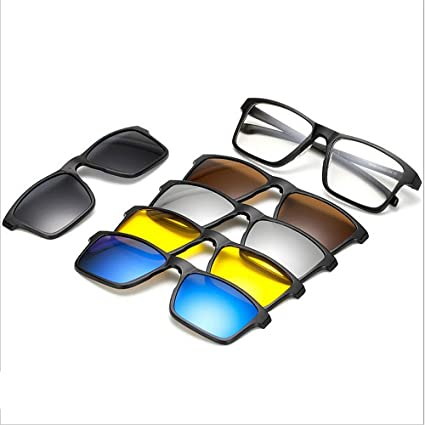 Gafas de sol cuadradas de la forma cuadrada con las lentes ...