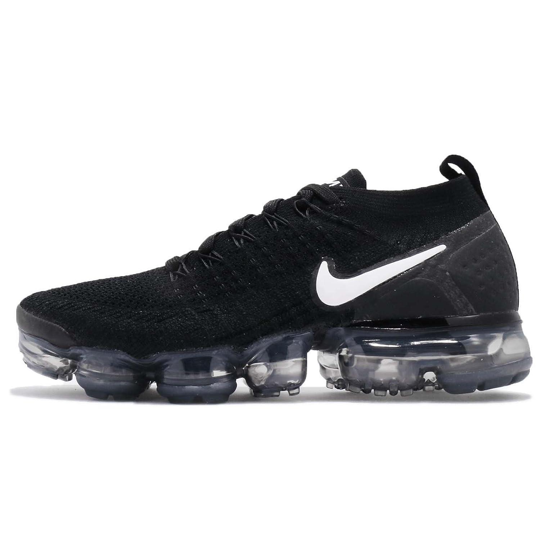 Nike W Air Vapormax Flyknit 2, Zapatillas de Running para Mujer 38 EU|Multicolor (Black/White/Dark Grey/Mtlc Silver 001)