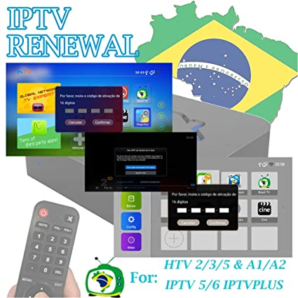 SOUDIO 16-Digit Renew Code for HTV1 / HTV2 / HTV3 / HTV4 / HTV5/ IPTV5 /  IPTV5 Plus / IPTV6 / IPTV6+ / A1 / A2 Activation Code Subscription Service