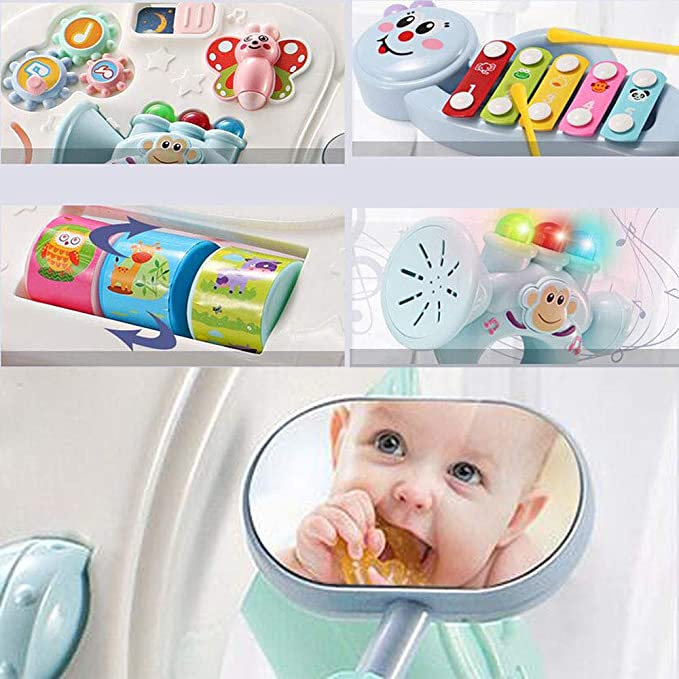 HKANG Caminador Musical Multifunción Bebé Prevención De ...