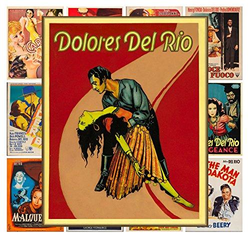 Mini Posters Set 13 posters Dolores Del Rio # Silent Film Movie Posters Reprint