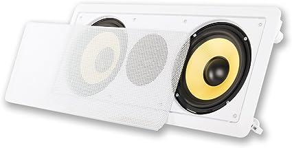 """Acoustic Audio HD-6c In-Wall 6.5/"""" Center Channel Speaker In Ceiling 350 Watt"""