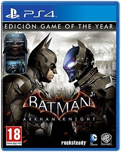 Batman: Arkham Knight - Game Of The Year Edition: Amazon.es ...