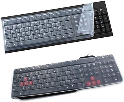 Cubierta protectora para teclado de ordenador de sobremesa ...