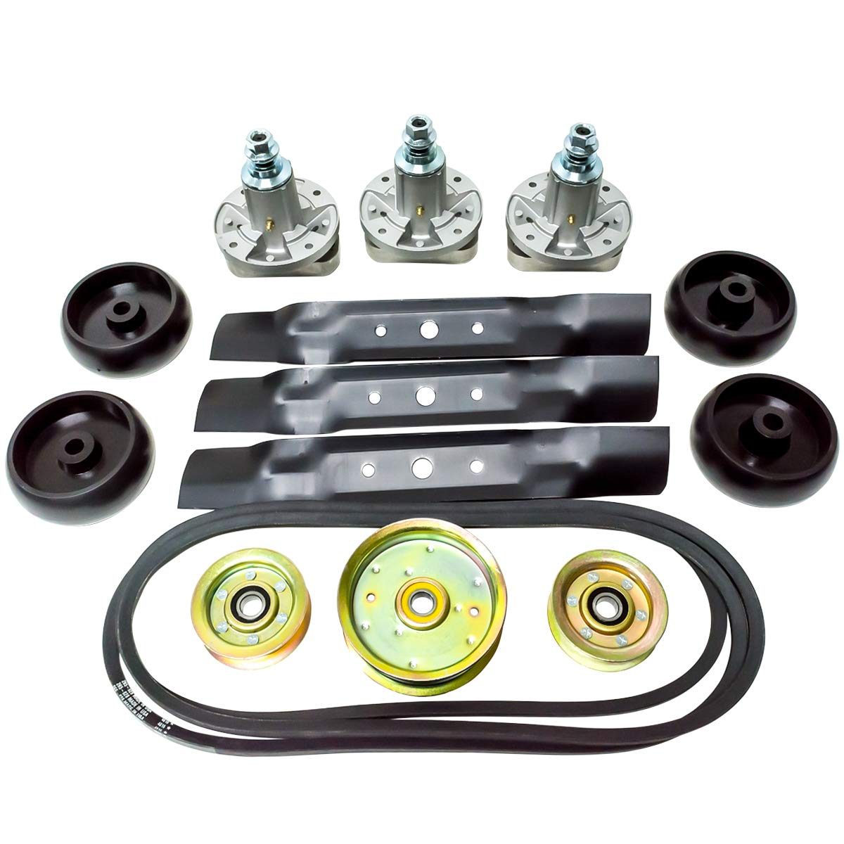 48'' Rebuild Deck Kit for John Deere LA120 130 145, D100, D110, D120, D140, D160, D170, G100, L100 Lawn Mowers