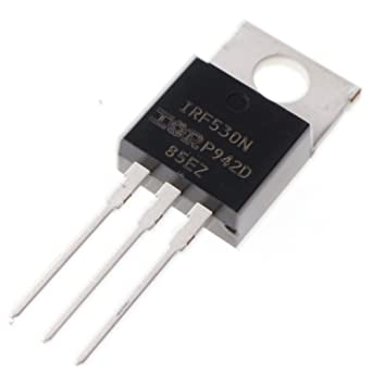 2 pcs of IRF530N IRF530 Power MOSFET N-Channel 17A 100V the transistor