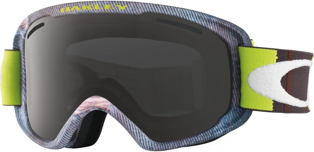 Oakley OO7066-06 O2 XM Eyewear, Aberdeen Green Rhone, Dark Grey Lens