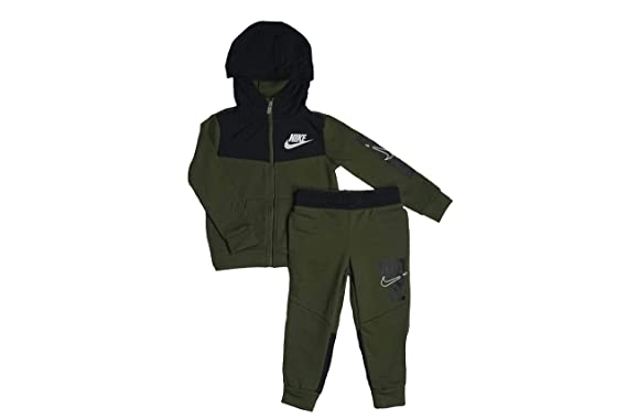 well known lower price with clearance sale Nike Survêtement Enfant Olive/Black (5-6 Ans): Amazon.fr ...