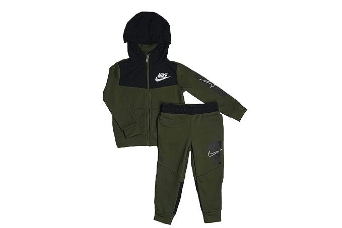 matériaux de qualité supérieure codes promo recherche de véritables Nike Survêtement Enfant Olive/Black (4-5 Ans): Amazon.fr ...