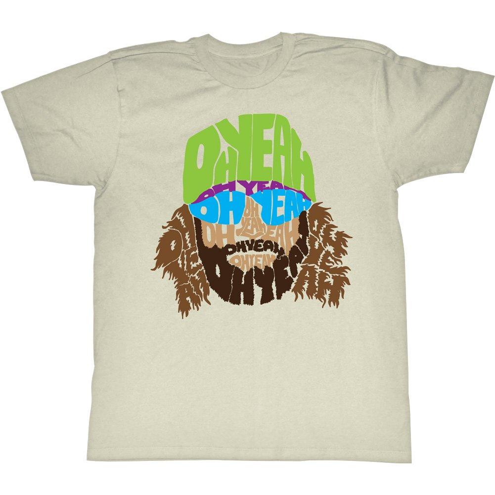 Macho Man 1980 S Wwf Heavyweight Wrestler Trippy Oh Yeah Beard Face Adult Tshirt 3337