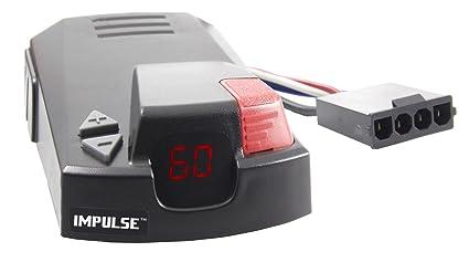 Electric Brake Controller >> Amazon Com Hopkins 47235 Impulse Plug In Simple Brake Control