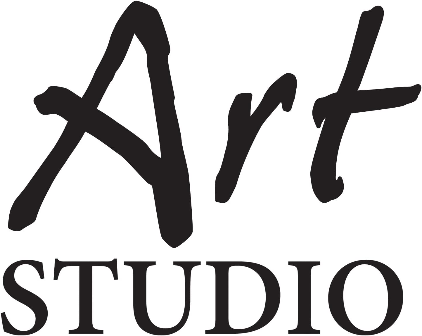 Art Studio Elba Folder A4/Polypropylene with Elastic Strap a4 Black /& White