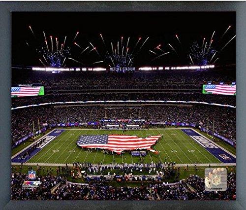 Metlife Stadium New York Giants Nfl Photo  Size  17  X 21   Framed