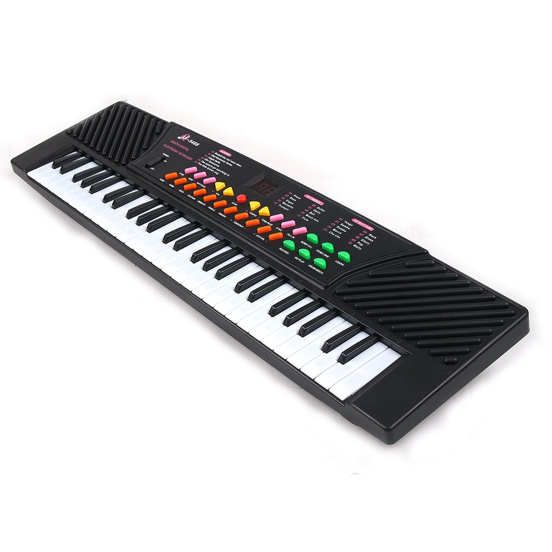 Yamix Kids Piano, 54 Key Multifunction Children's Electric Kids Keyboard Piano Music Instrument for Beginners and Toddler