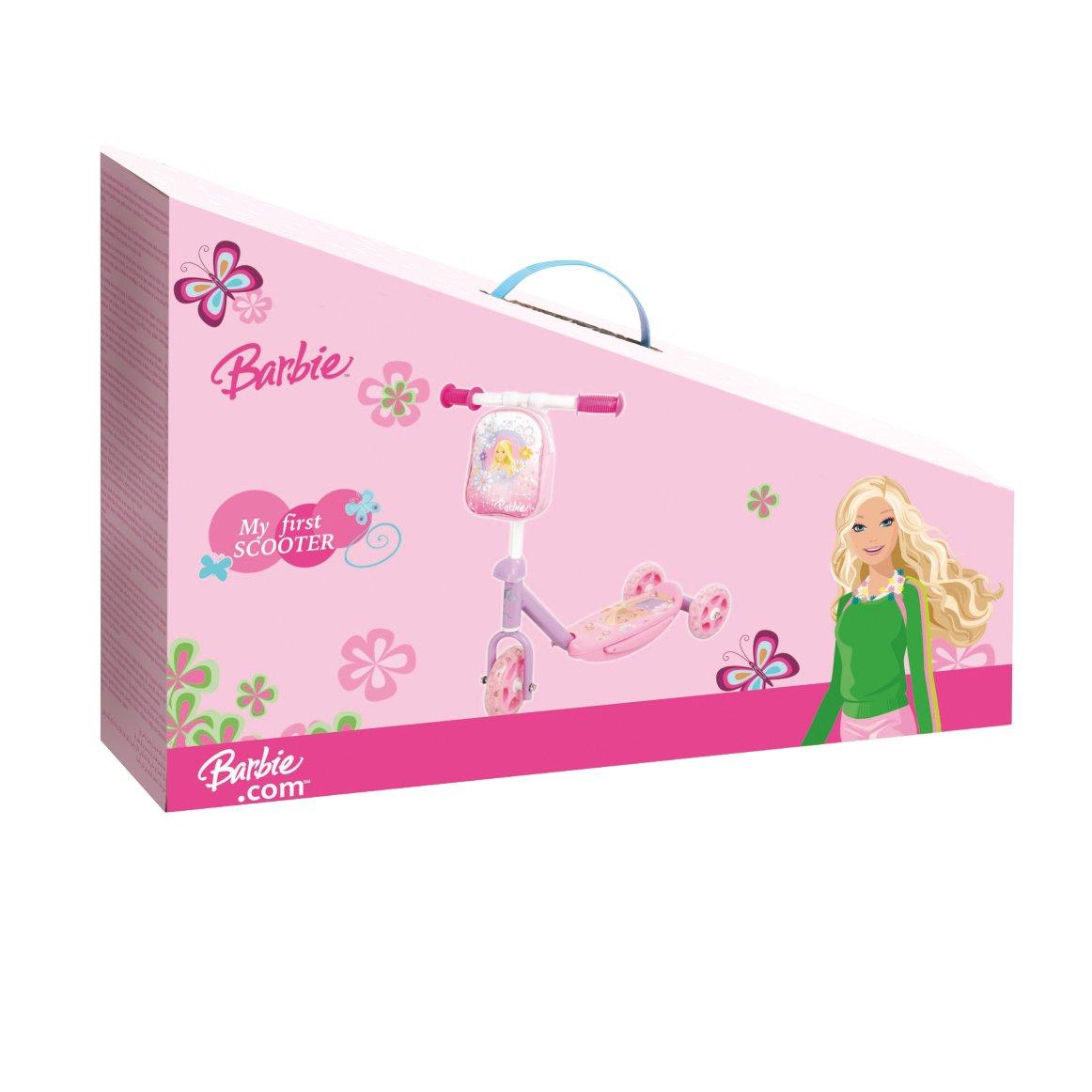 Barbie Mondo 18331 - Patinete Infantil con diseño (3 Ruedas)