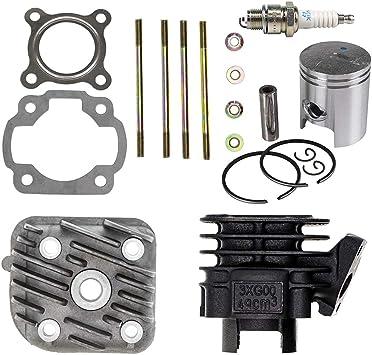 Cylinder Piston Gasket Head Top End Engine Kit Fit For Yamaha PW50 Y-Zinger HOT