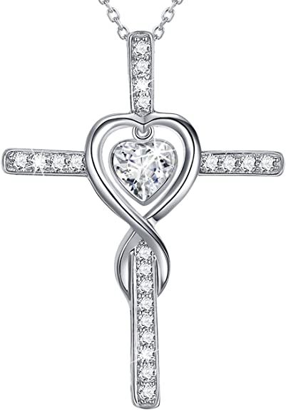 Best Quality Free Gift Box 14k Playful Girl W//cut Out Heart Pendant