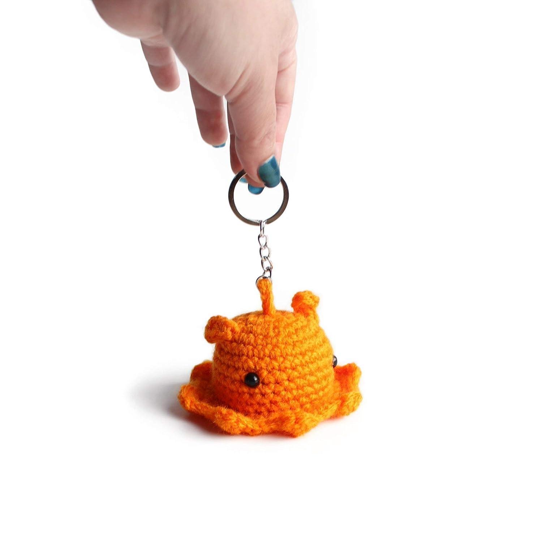 Happy Jellyfish Amigurumi Keychain Free Crochet Pattern   Octopus ...   1500x1500