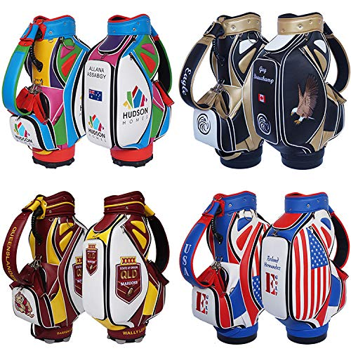 Custom Golf Bag Customized Golf Tour Bag Personalized Golf Staff Bag TB00 - Your Name, Your Logo, Your Choice of Colors