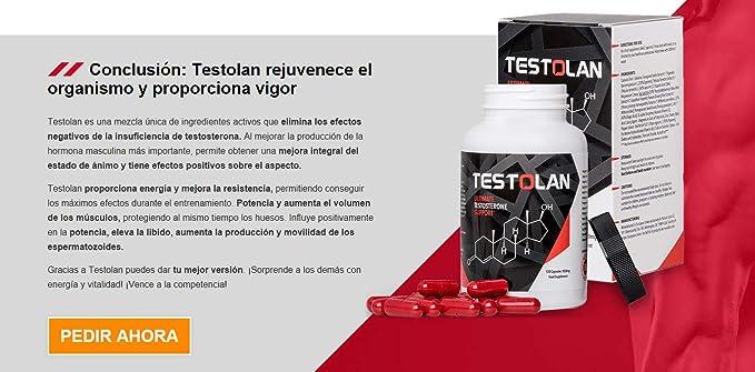 ✅TESTOLAN Premium - Testosterone Booster, rejuvenece su cuerpo, aumenta la libido, le da vitalidad, fuerza y vigor, para todos los hombres mayores de 30 ...