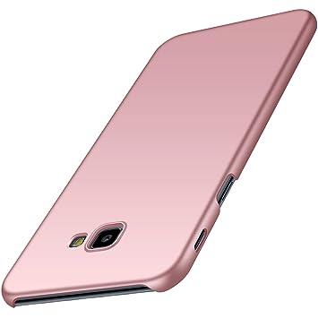 anccer Funda para Samsung Galaxy J4 Plus [Serie Colorida] [Ultra-Delgado] [Ligera] Anti-rasguños Estuche para Galaxy J4 Plus (Oro Rosa Liso)
