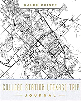 College Station Texas Map on