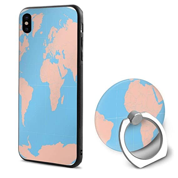 photograph about Printable Phones named : Telephone X Situation Printable Globe MAPS Ring Mobile
