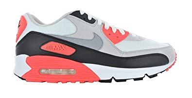 2f223cbc7874c6 Nike Air Max 90 Retro 325018-107 Grey Running Shoes