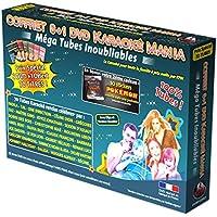 Coffret 6 DVD + 1 Karaoké Mania Mega Tubes Inoubliables 2 + 10 Stikcers POKÉMON