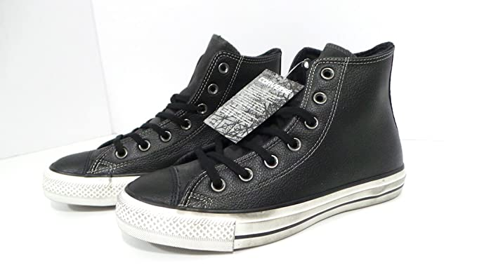 ae0bd46d8d58 CONVERSE SNEAKERS UNISEX - CT AS HI LEATHER SUEDE DISTRESSED 158964C ...