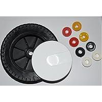 Oregon roue universelle pour tondeuse communs 200 mm